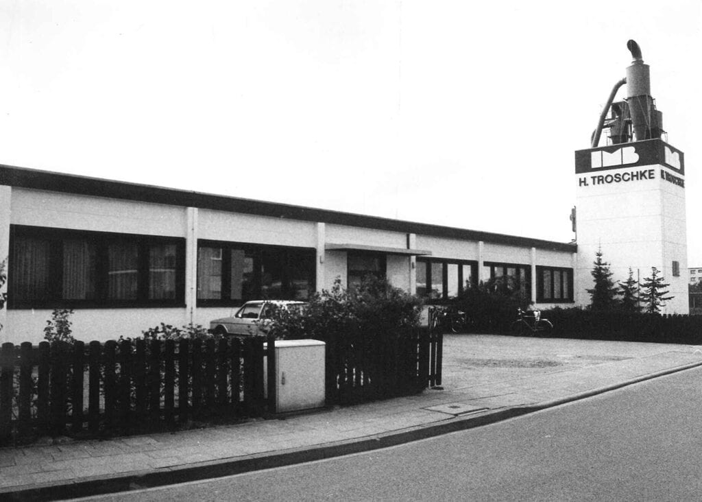 Fassade Farmstraße 70er Jahre