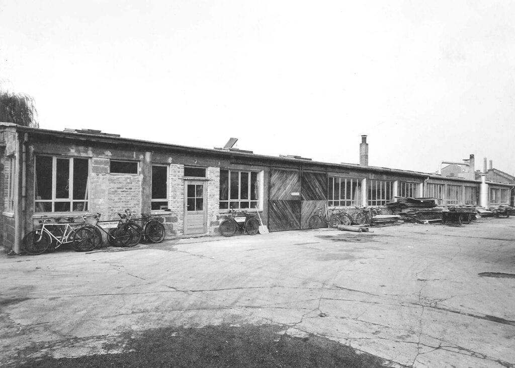 Fassade Gutleutstraße in den 50er Jahren