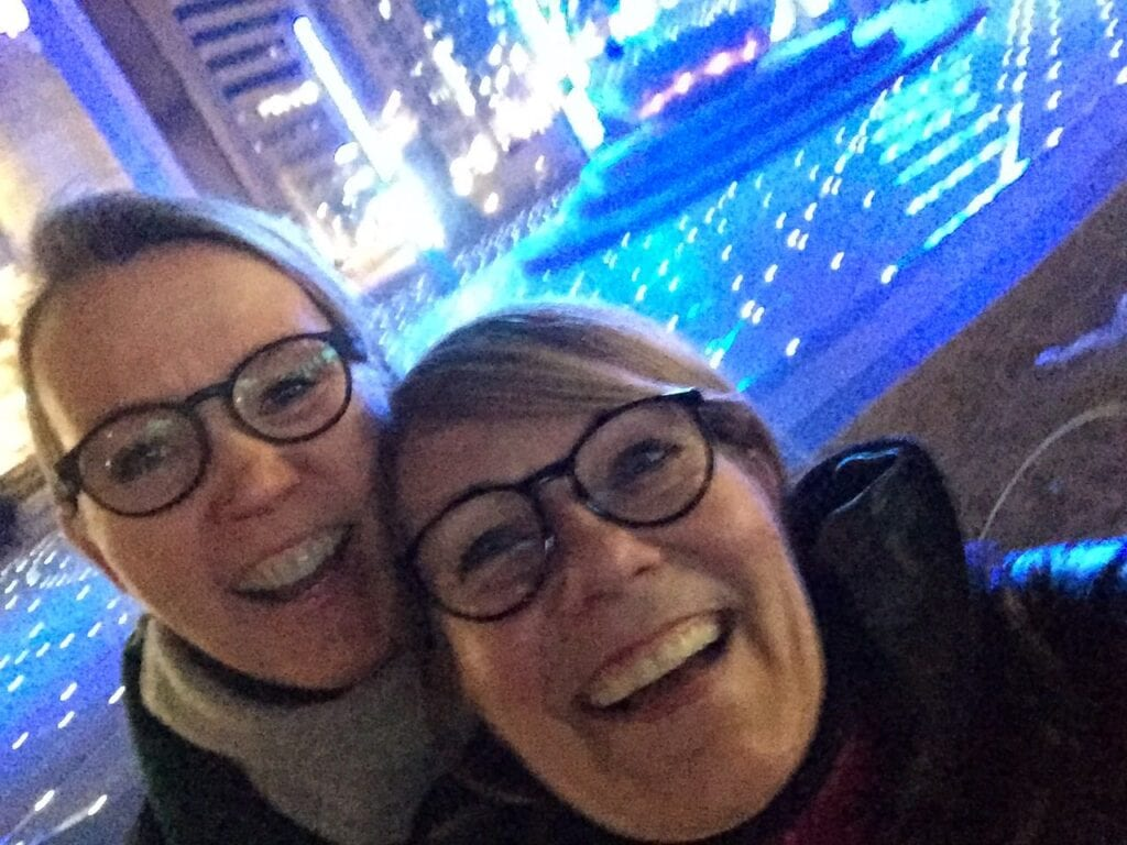 Isabel & Andrea in Seoul