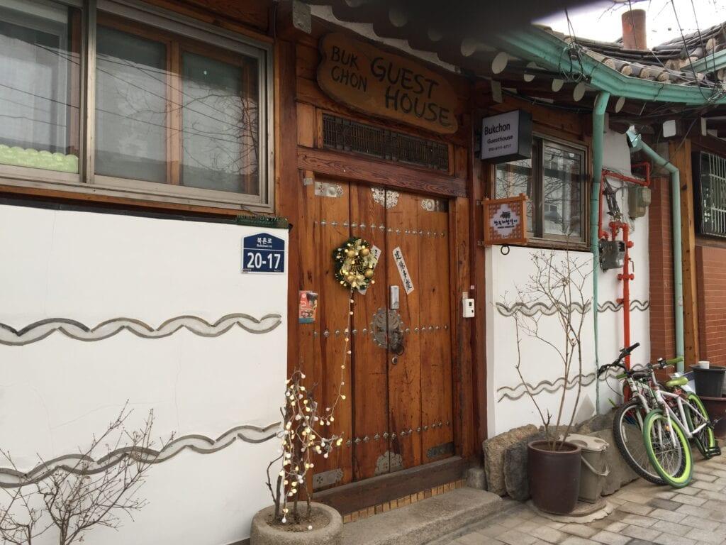 Hanuk sind traditionelle Gästehäuser