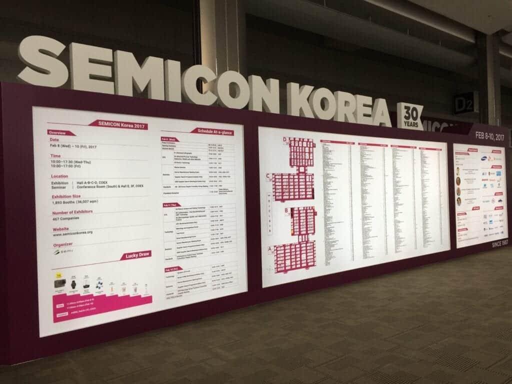 Willkommen zur Semicon Korea
