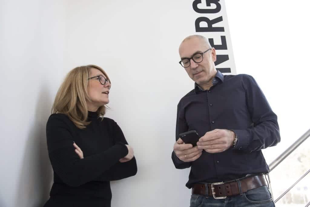 Im Gespräch: Andrea Walburg und Randolph Maurer